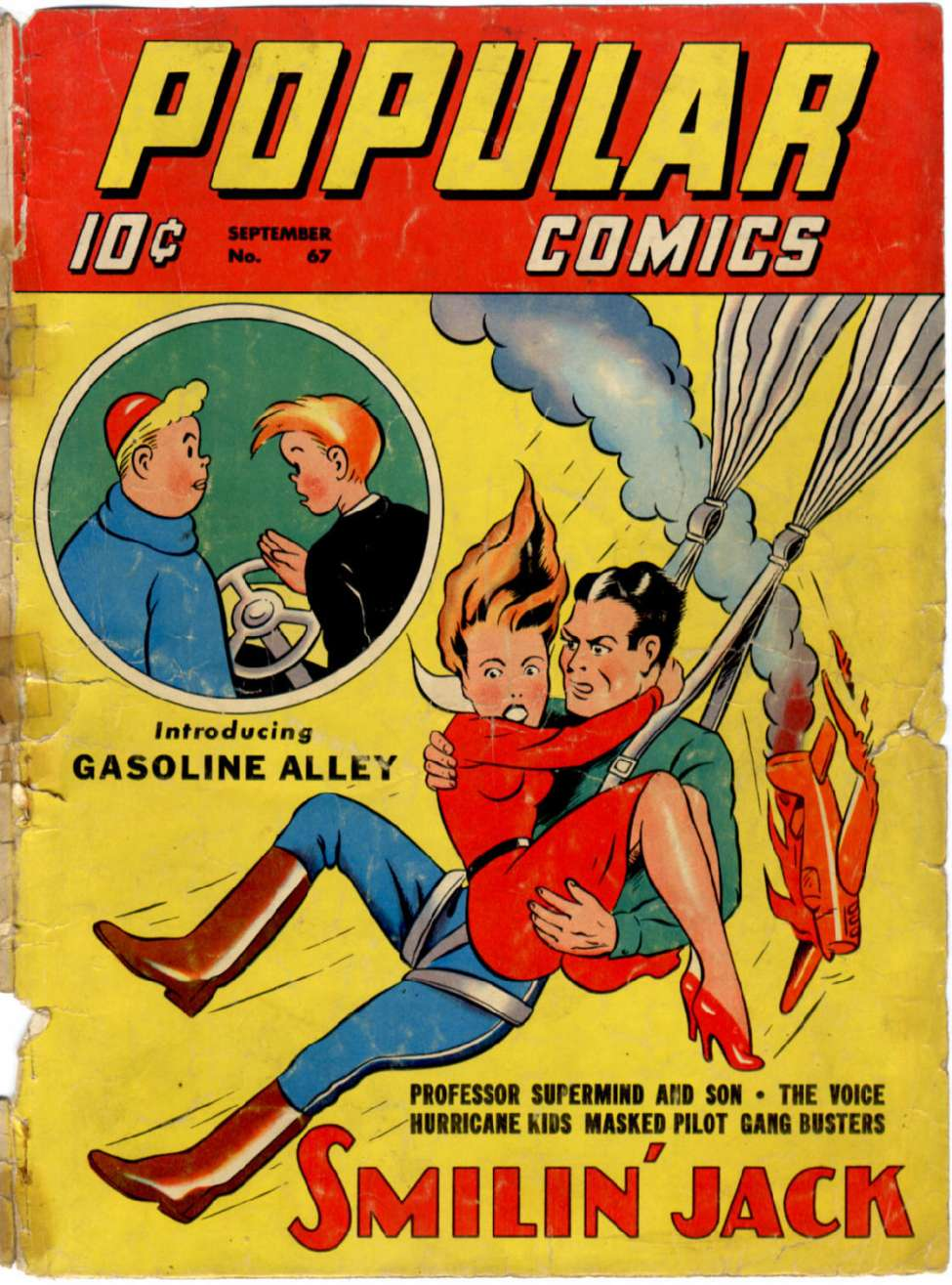 Comic Book Cover For Popular Comics #67