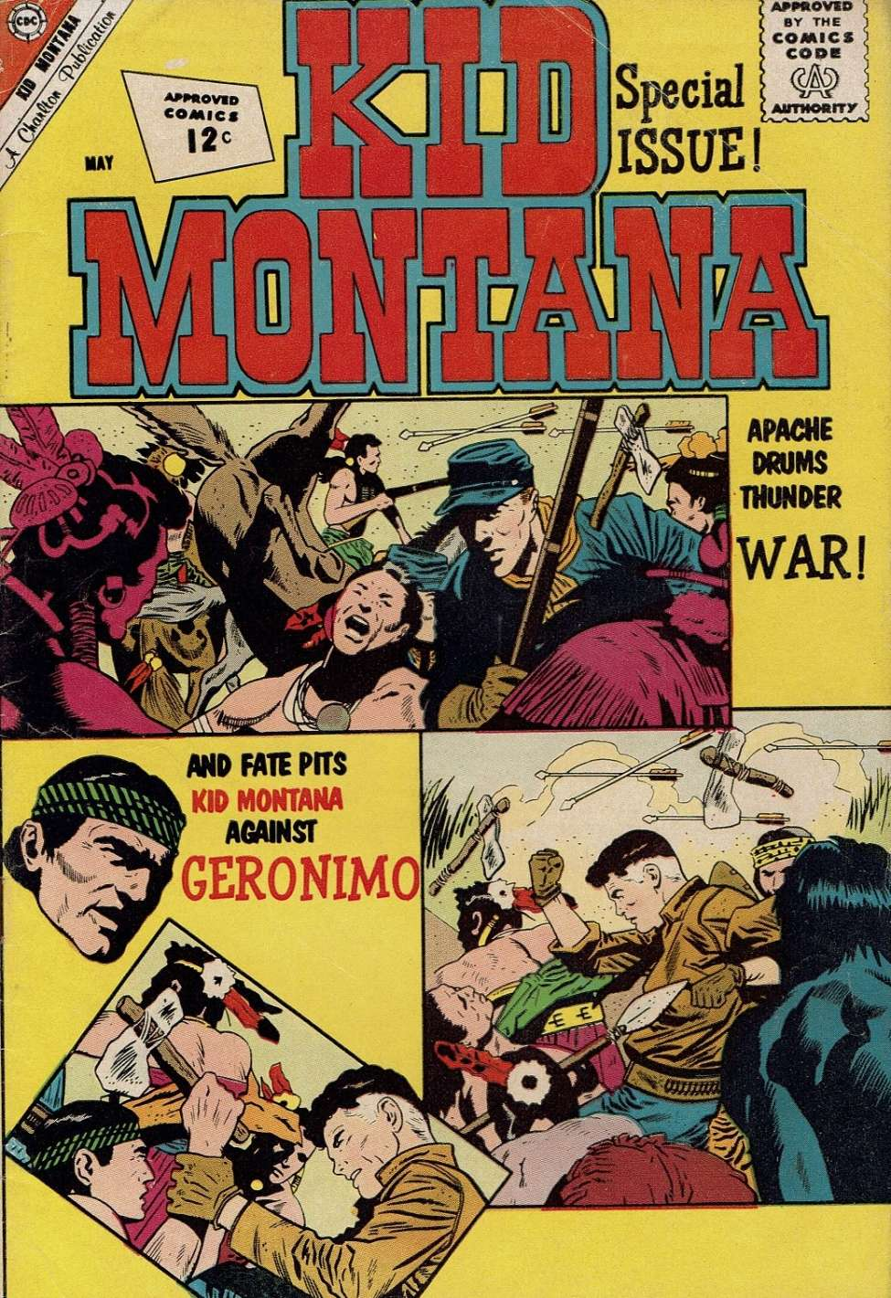 Comic Book Cover For Kid Montana #34