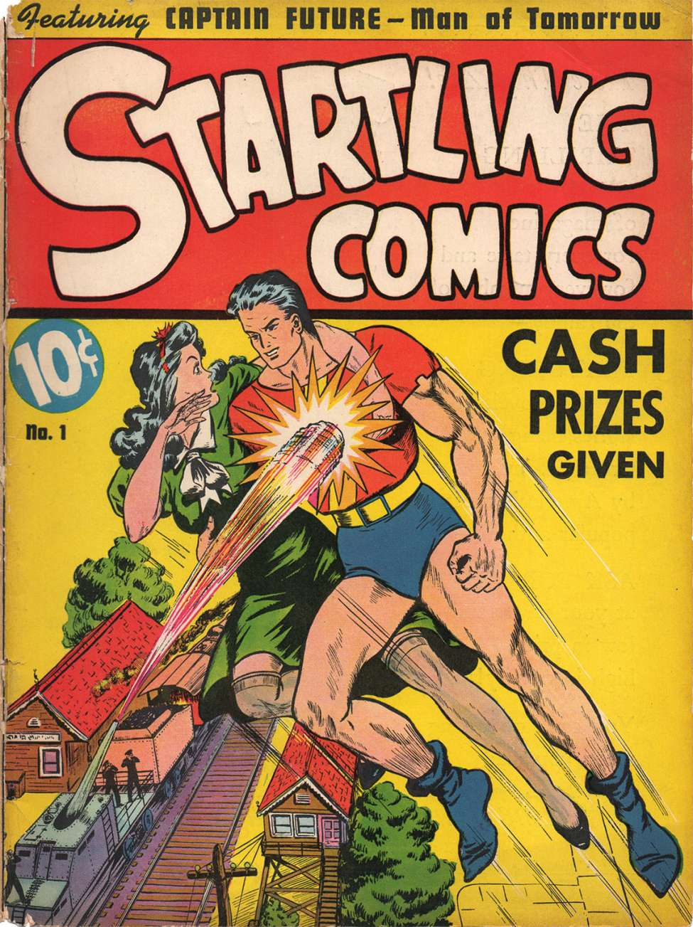 Comic Book Cover For Startling Comics v1 #1