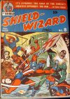 Cover For Shield Wizard Comics 8
