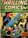 Cover For Thrilling Comics 28