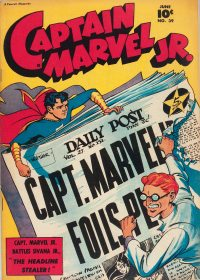 Large Thumbnail For Captain Marvel Jr. #39