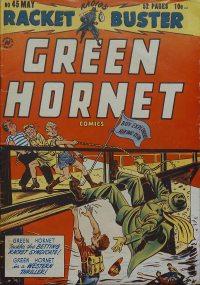 Large Thumbnail For Green Hornet, Racket Buster #45