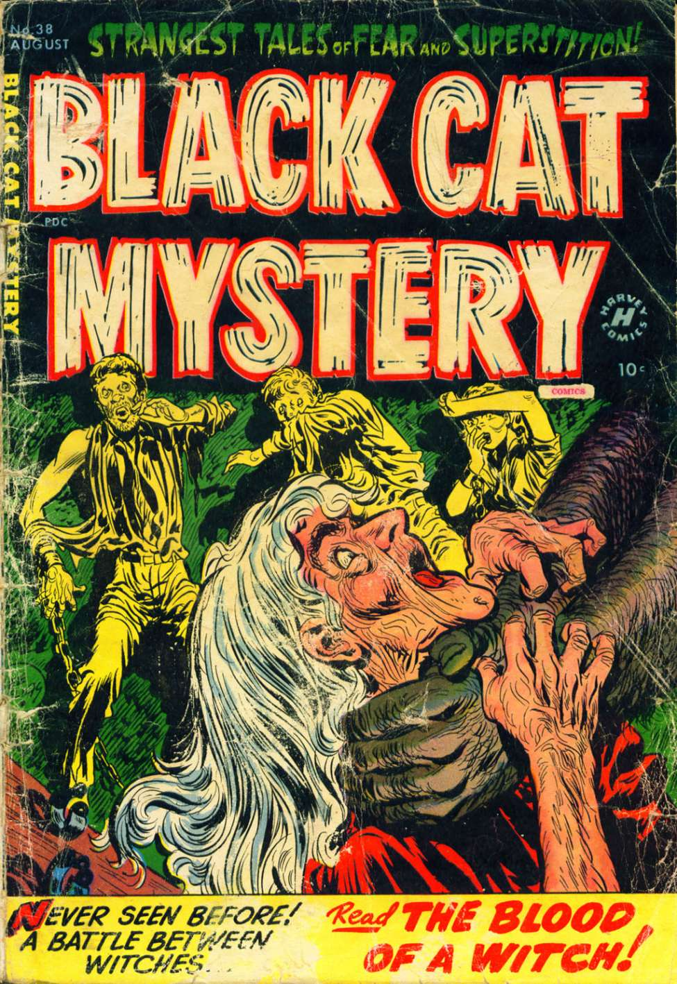 Comic Book Cover For Black Cat #38