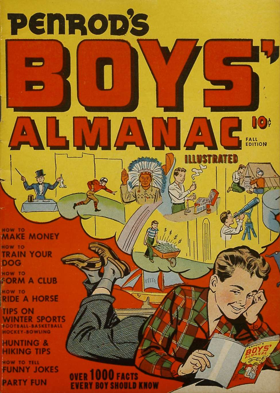 Comic Book Cover For Penrod's Boys' Almanac Illustrated nn