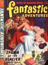 Cover For Fantastic Adventures v5 10 Spawn of the Glacier Leroy Yerxa