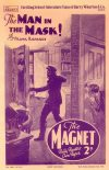 Cover For The Magnet 1660 The Man in the Mask!