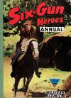 Cover For Six Gun Heroes Western Comic Annual 4