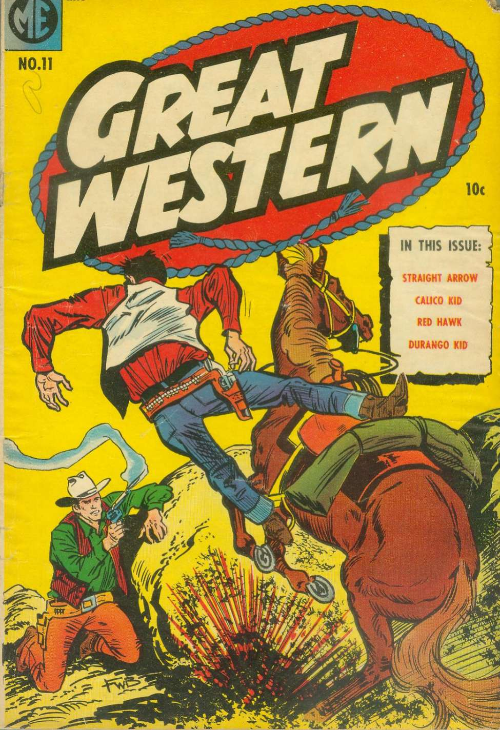 Comic Book Cover For Great Western #11