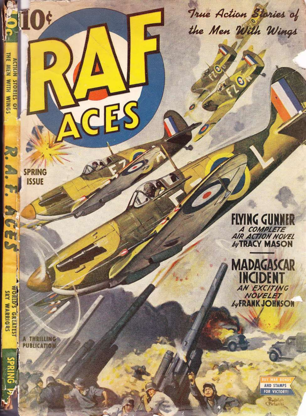 Comic Book Cover For RAF Aces v03 02