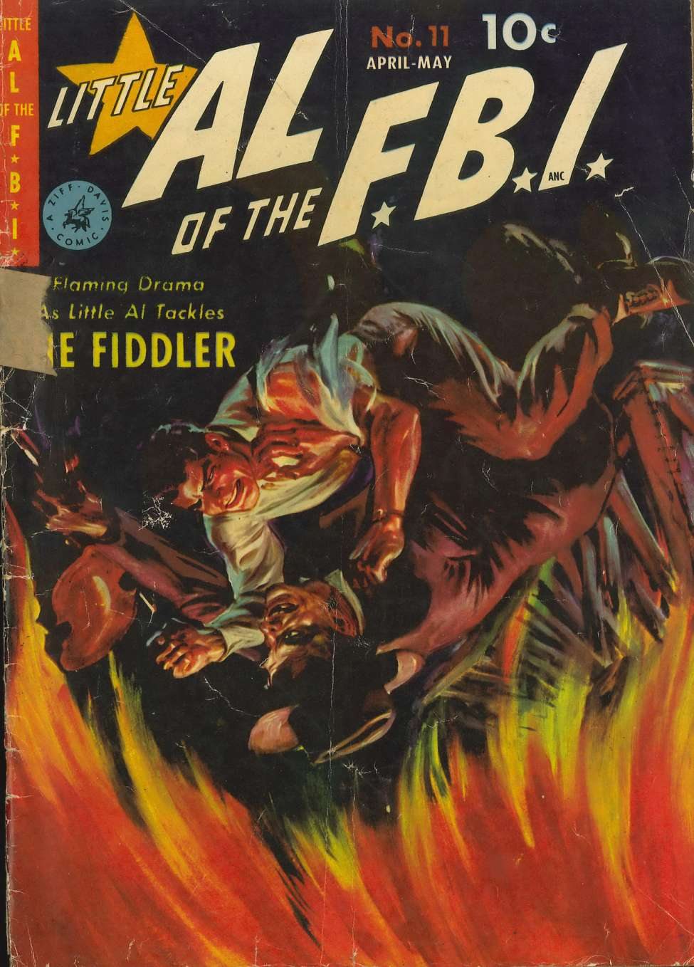 Comic Book Cover For Little Al of the F.B.I. #11 - Version 1