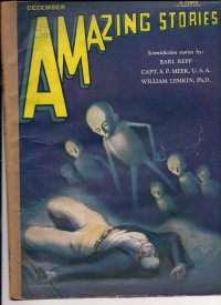 Large Thumbnail For Amazing Stories v05 09 - The Eclipse Special - William Lemkin, Ph.D