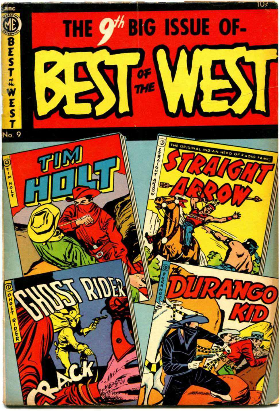 Comic Book Cover For Best of the West 9 [A-1 #85]