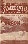 Cover For L'Agent IXE 13 v2 78 Prisonnier au Japon