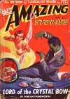Cover For Amazing Stories v16 5 Lord of the Crystal Bow Duncan Farnsworth