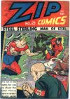Cover For Zip Comics 21