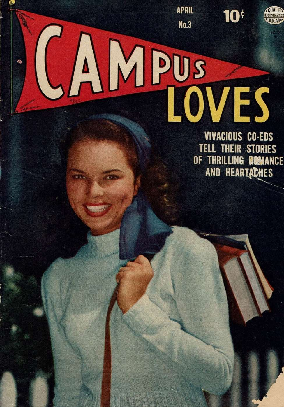 Comic Book Cover For Campus Loves #3