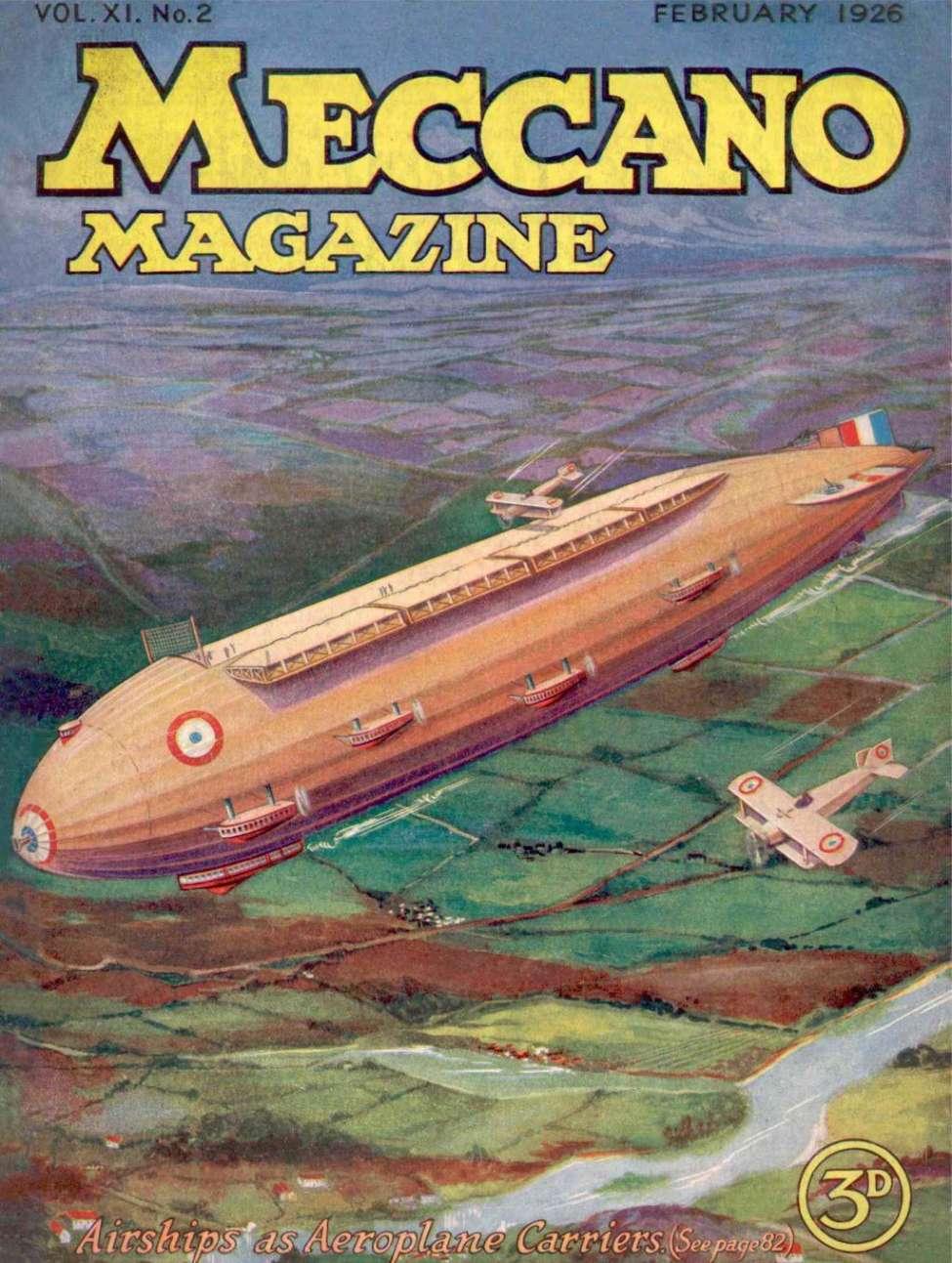 Comic Book Cover For Meccano Magazine v11 02