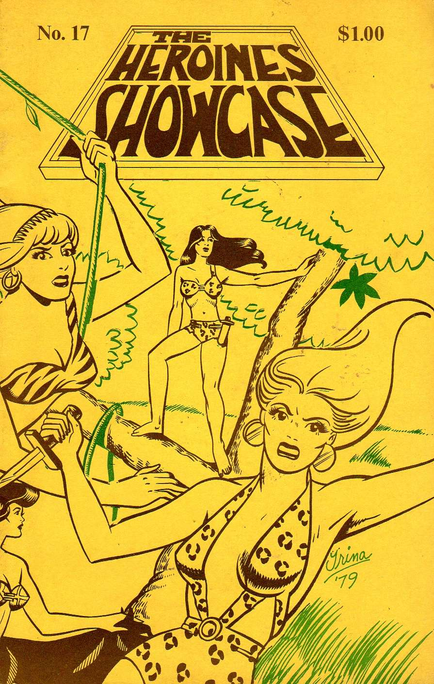 Comic Book Cover For Heroines Showcase 17
