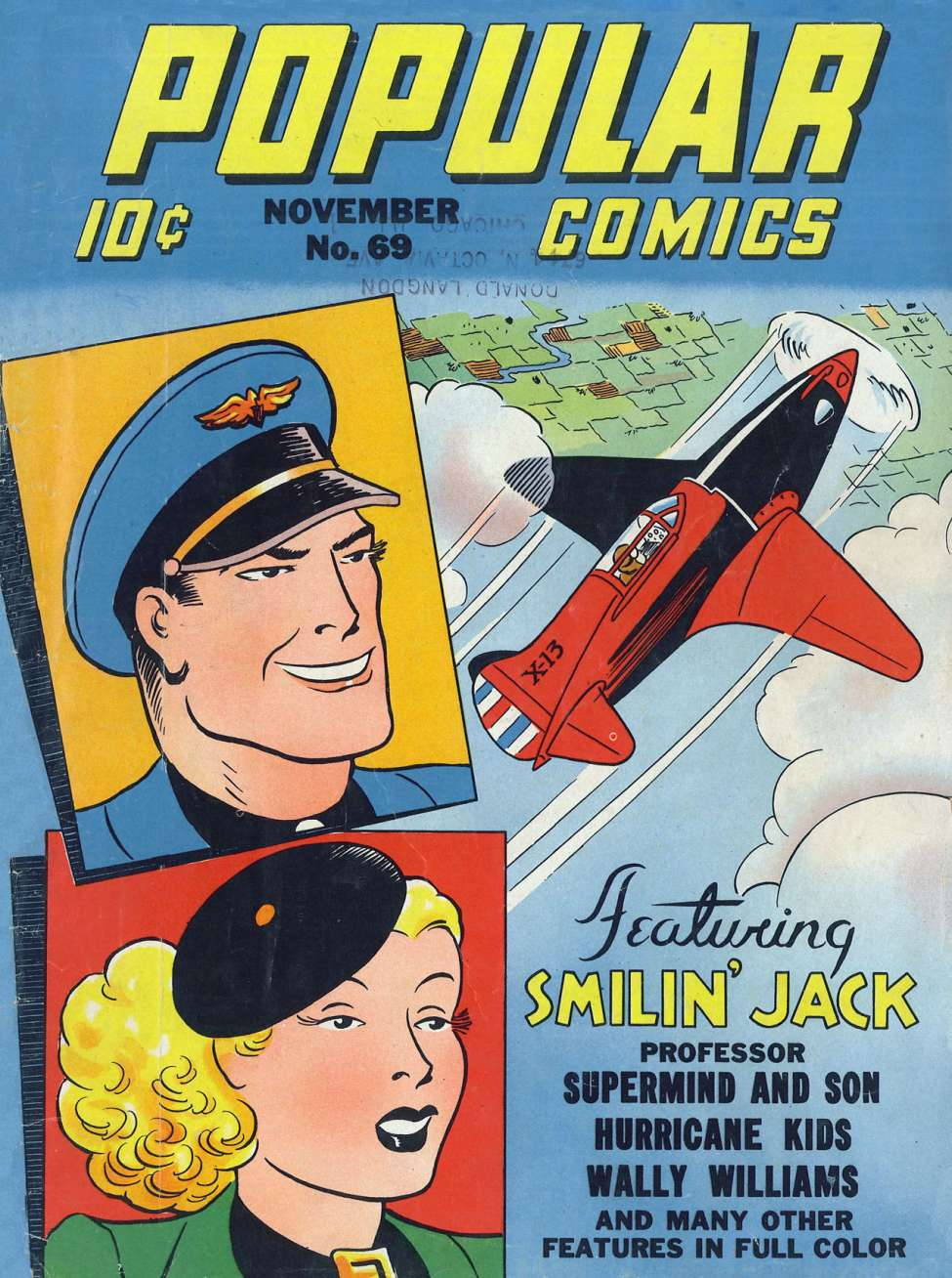 Comic Book Cover For Popular Comics #69