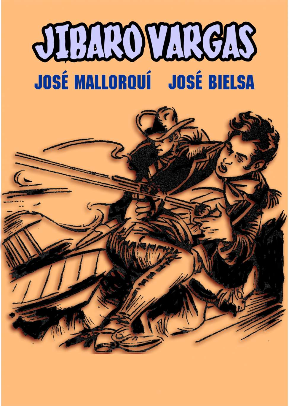 Comic Book Cover For Jibaro Vargas