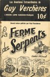 Cover For Guy Verchères 10 La ferme des serpents