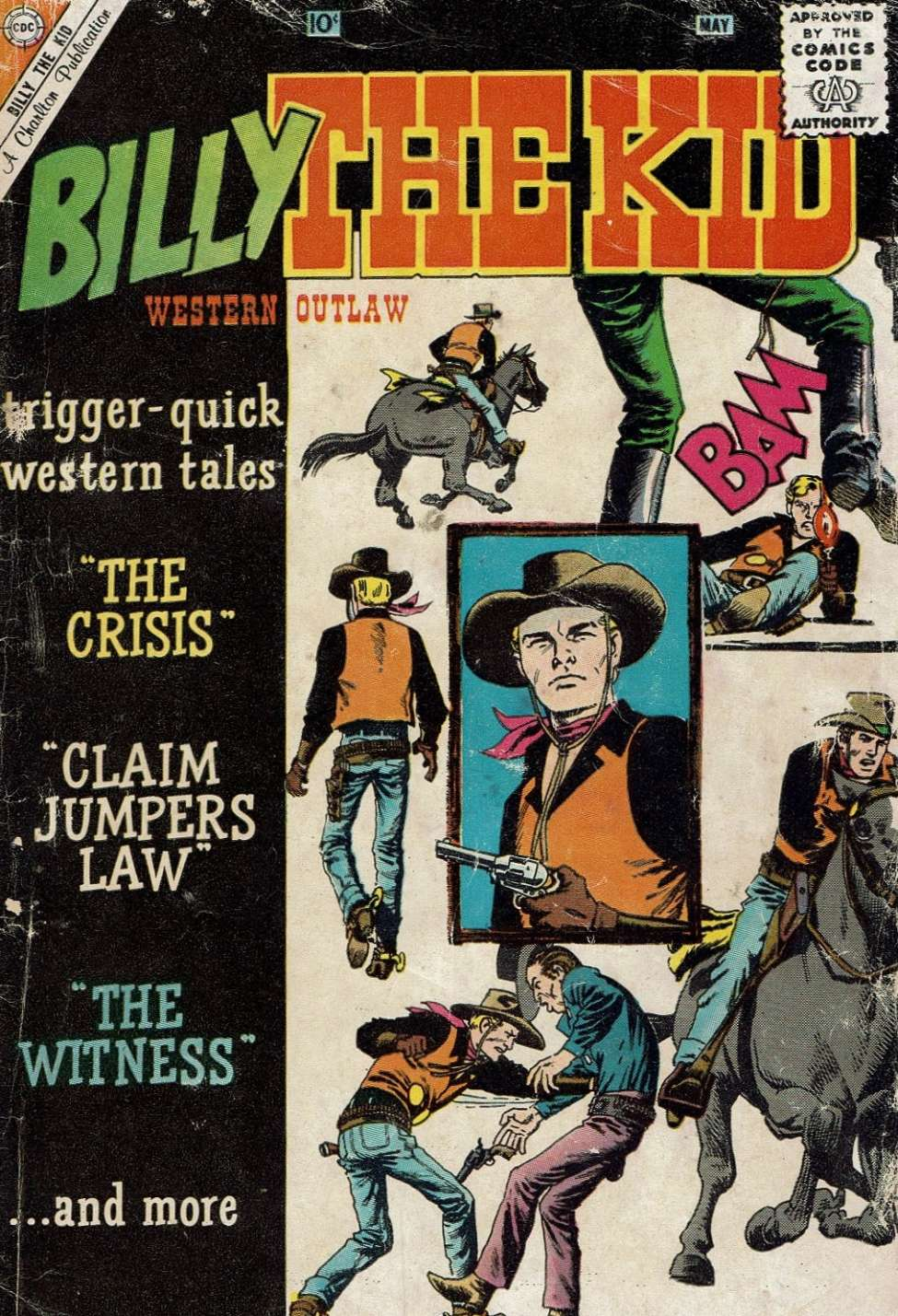 Comic Book Cover For Billy the Kid #22
