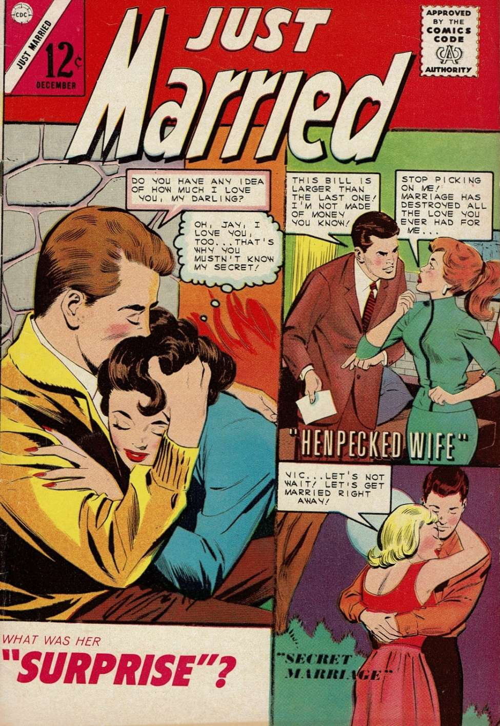 Comic Book Cover For Just Married #39