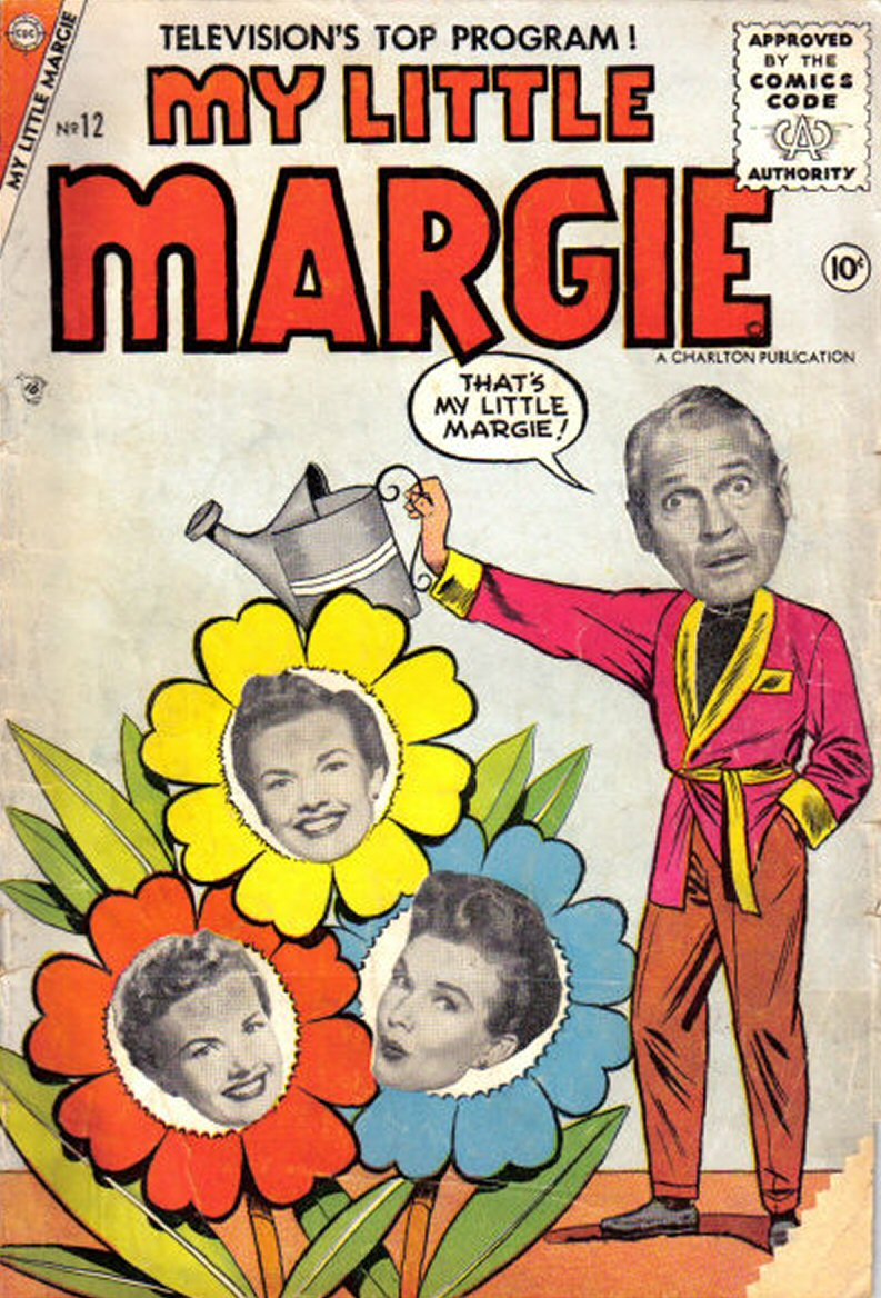 Comic Book Cover For My Little Margie #12