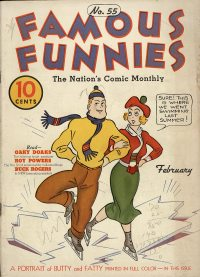 Large Thumbnail For Famous Funnies #55