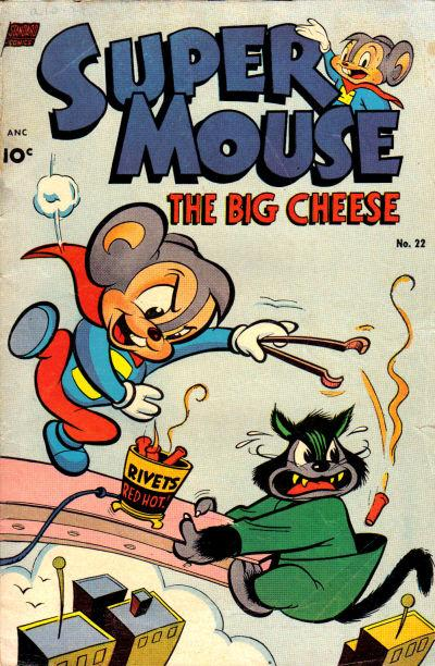 Comic Book Cover For Supermouse #22