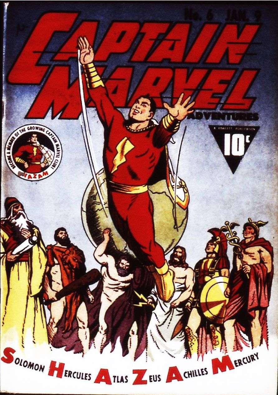 captain marvel adventures 6