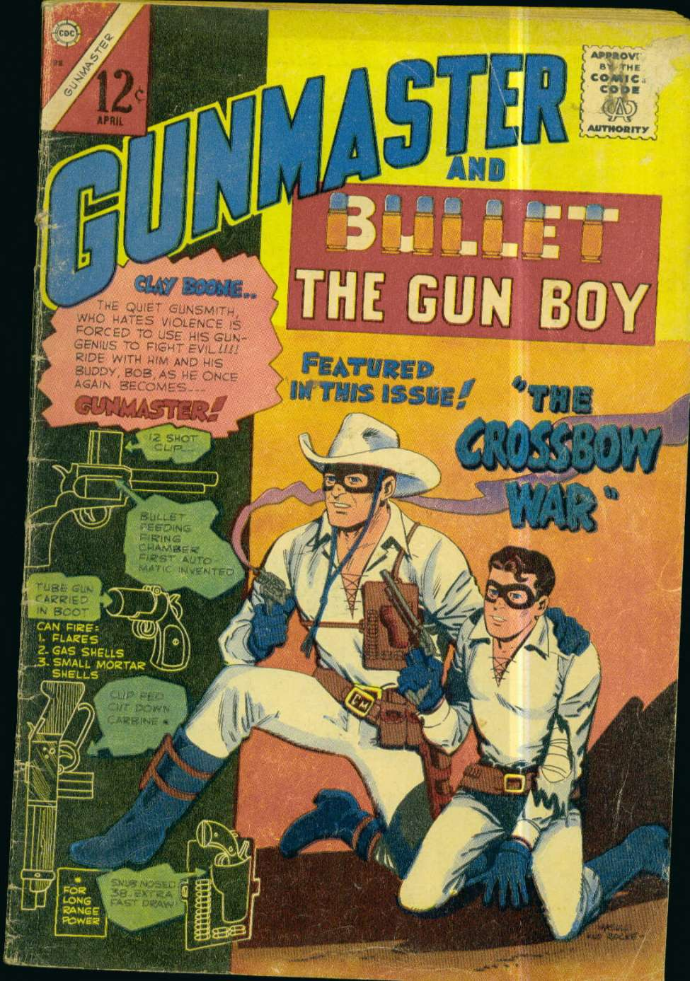 Comic Book Cover For Gunmaster #88