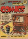 Cover For Tee and Vee Crosley in Television Land Comics