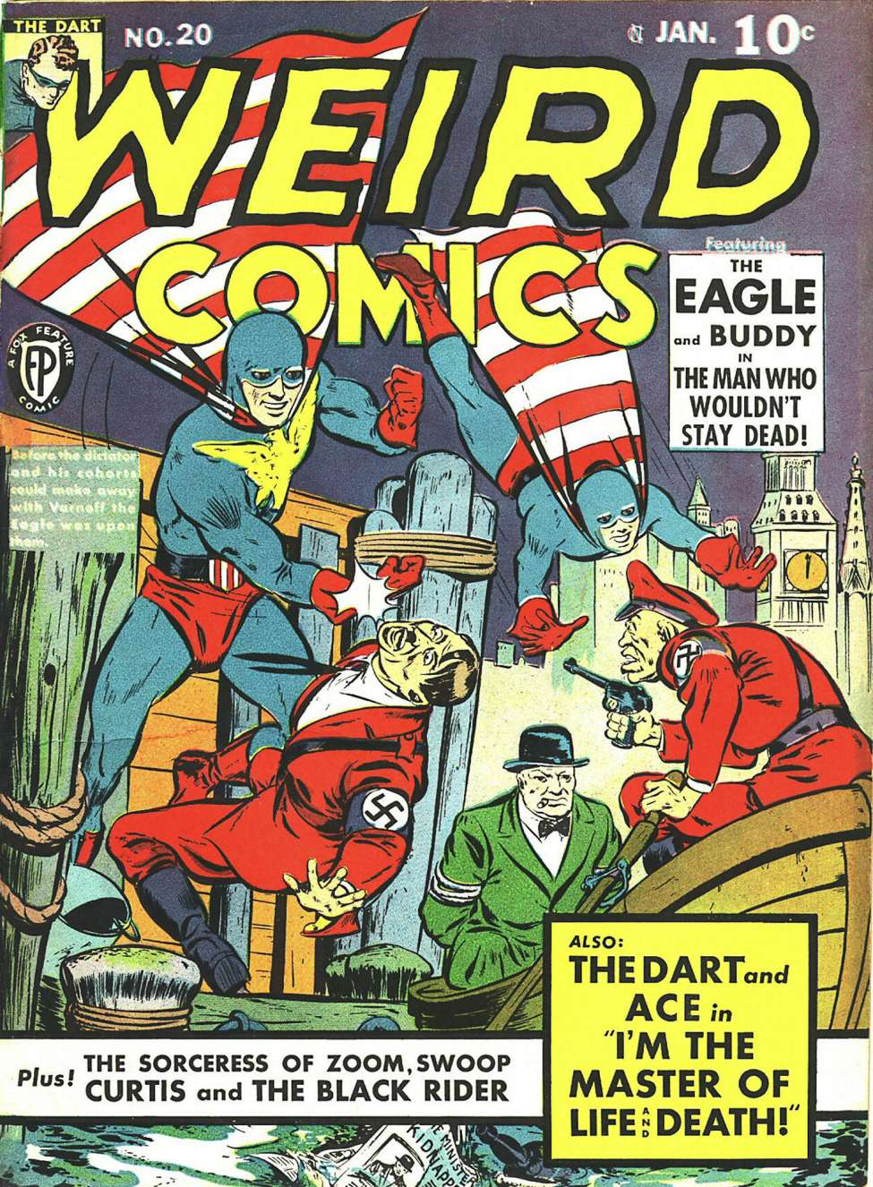 Comic Book Cover For Weird Comics #20