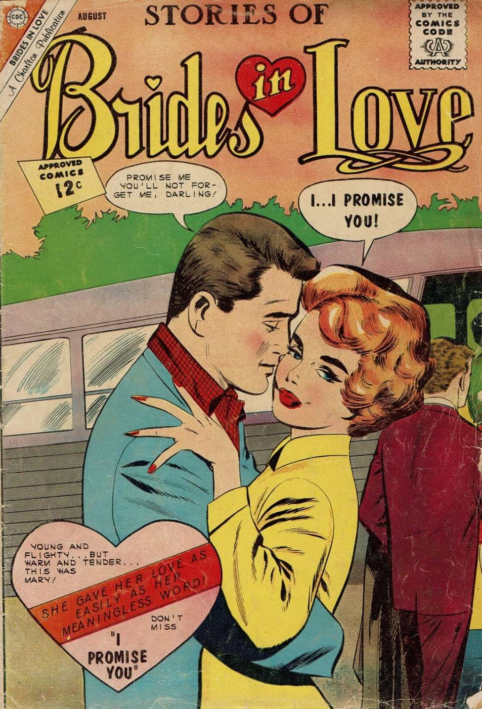 Comic Book Cover For Brides in Love #31
