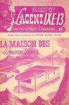 Cover For L'Agent IXE 13 v2 162 La maison des inventions