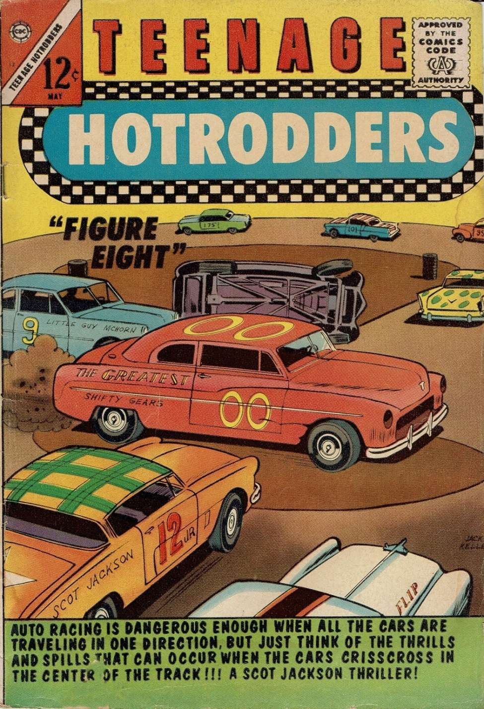 Teenage Hotrodders #12 (Charlton) - Comic Book Plus