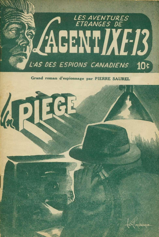 Comic Book Cover For L'Agent IXE-13 v1 007 - Un piège