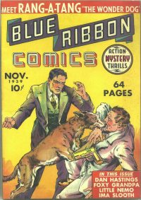 Large Thumbnail For Blue Ribbon Comics #1