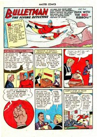 Large Thumbnail For Bulletman Archive Vol 14