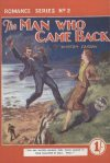 Cover For Romance Series 2 The Man Who Came Back