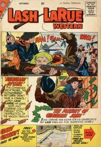 Large Thumbnail For Lash Larue Western #74