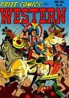 Cover For Prize Comics Western 90
