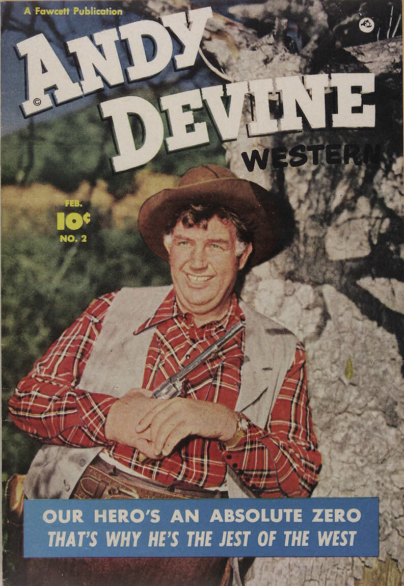 Comic Book Cover For Andy Devine Western #2