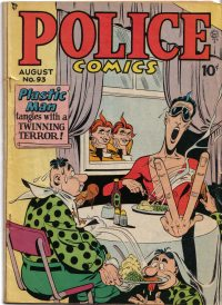 Large Thumbnail For Police Comics #93