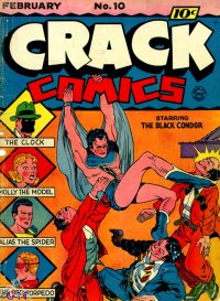 Large Thumbnail For Crack Comics #10