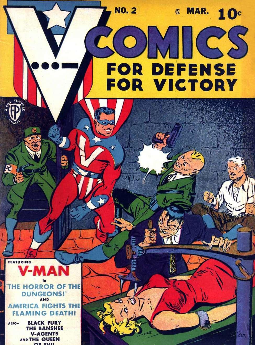 Comic Book Cover For V...- Comics #2