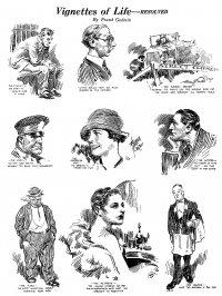 Large Thumbnail For Vignettes of Life - Frank Godwin 1927