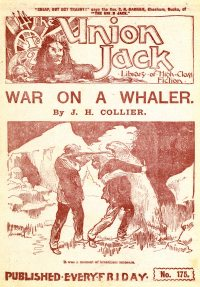 Large Thumbnail For The Union Jack 175 - War on a Whaler